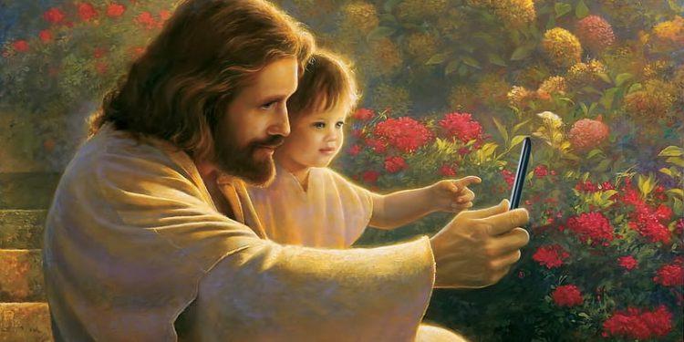 Jesus Takes a Sefie (kevinwgarrett, Flickr).