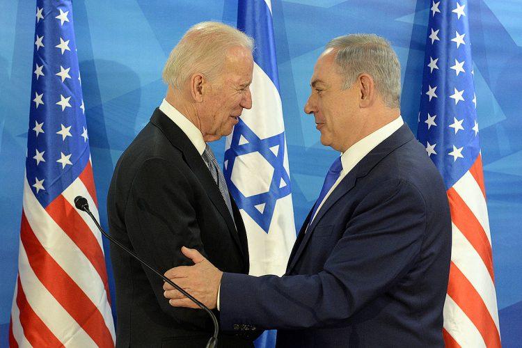 Joe Biden under sitt besøk i Israel, som Obamas visepresident, i 2016 (Kilde: Wikimedia Commons).