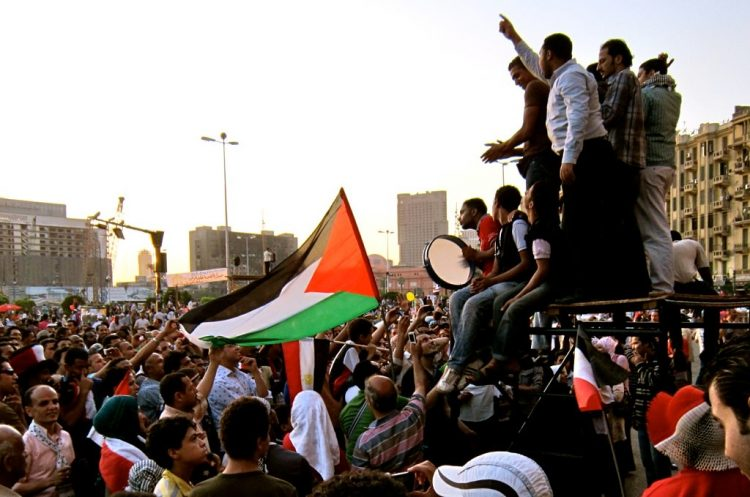 """Free Palestine"" (foto Gidi Ibrahim i Flickr)."