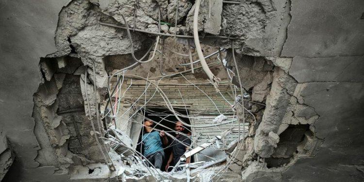 IDF lurte terrorister inn i terrortunneler.