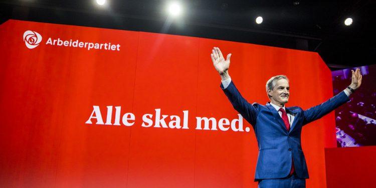 Arbeiderpartiets leder Jonas Gahr Støre (foto Sara Johannessen, Arbeiderpartiet, i Flickr).