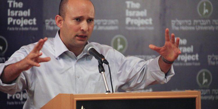 Naftali Bennett (foto: The Israel Project, i Wikimedia Commons).