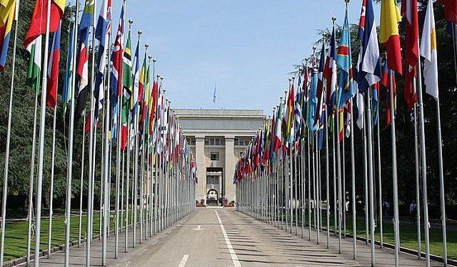 Nasjonenes palass i Genève, Sveits, hovedsete til FNs menneskerettighetsråd (foto: CC BY-SA Henry Mühlpfordt, i Wikipedia Commons).