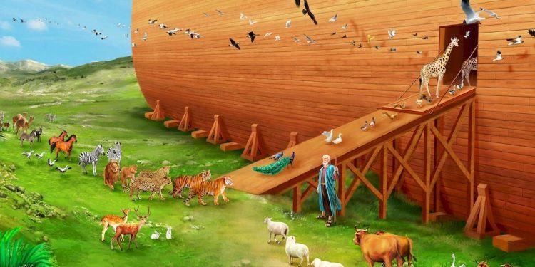 Noas ark (Flickr).