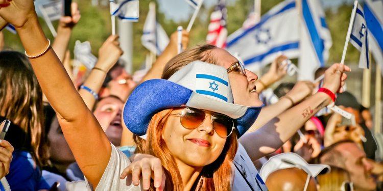 Kilde: Wikimedia Commons, Council Celebrate Israel Festival, Los Angeles 2013