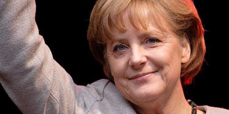 Angela Merkel. Foto:Creative commons licensed picture by User:א see commons.wikimedia.org/wiki/File:Angela_Merkel_(2008).jpg.