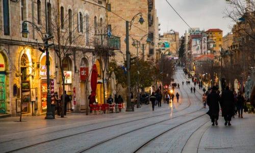 Jaffo-street, Jerusalem. Foto: Fellowship of Israel related Ministries.