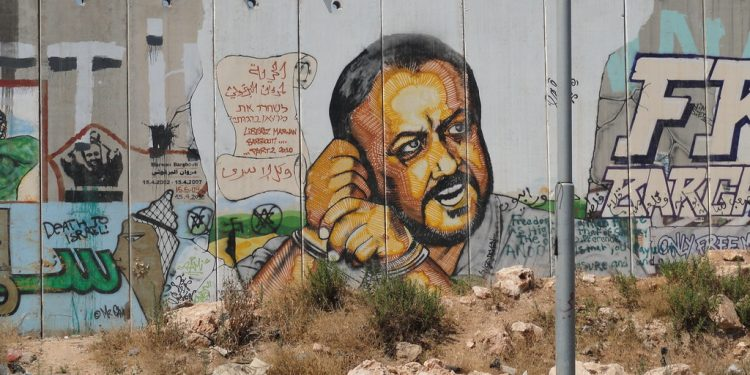 Mawan Barghouti, som palestinere flest ønsker som arvtager etter Mahmoud Abbas. Foto: Flickr.