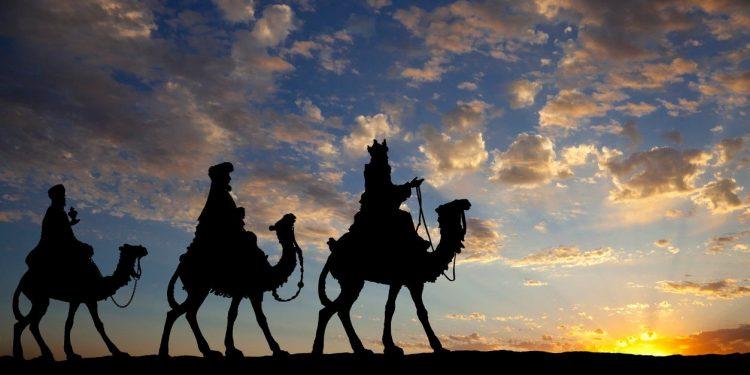 De tre vise menn kom for å tilbe jødenes konge.