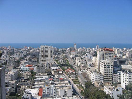 Gaza city. Foto: Flickr Israel Defense Forces.