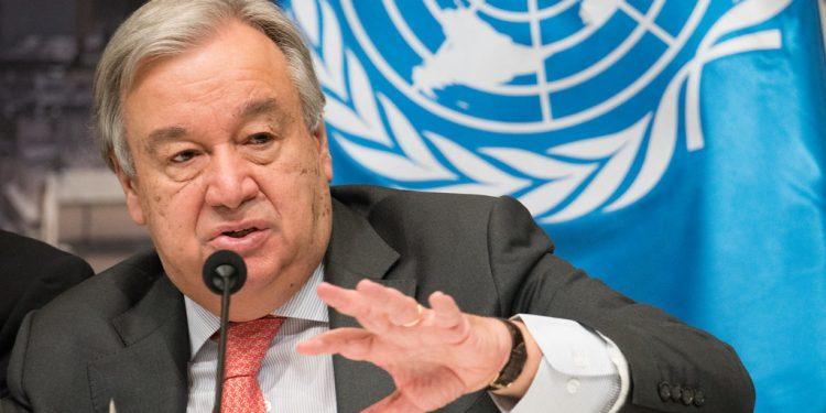 FNs generalsekretær Antonio Guterres. Foto: Flickr.