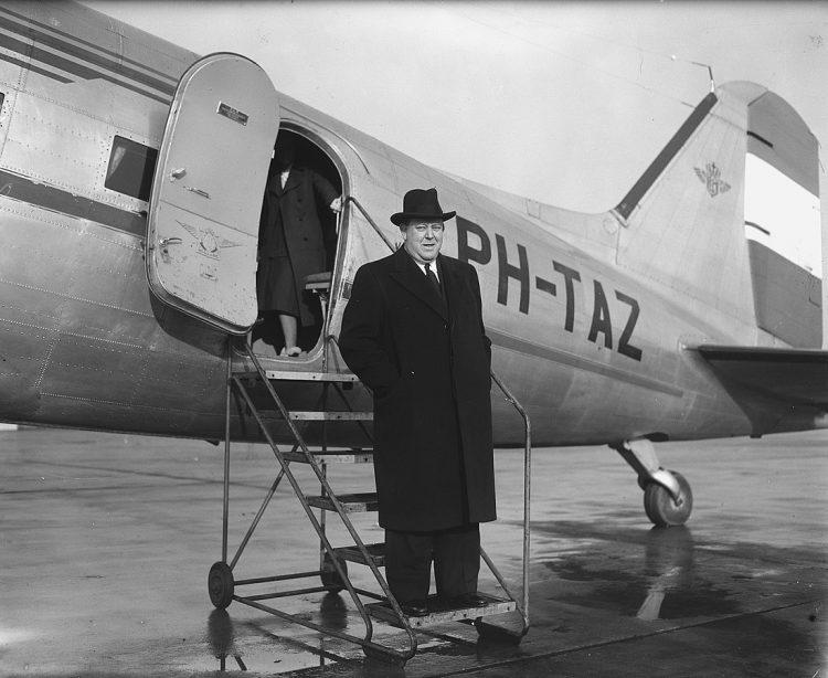 FNs generlasekretær Trygve Lie, 1948. Foto: Wikimedia Commons.