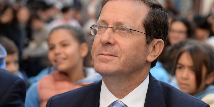 Israels president, IKAJ-venn Isaac Herzog. Foto: Wikimedia commons.