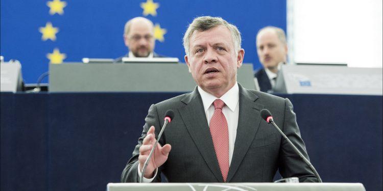 Kong Abdullah II i Europaparlamentet 2015. Foto: European Union 2015 - European Parliament, i Flickr.