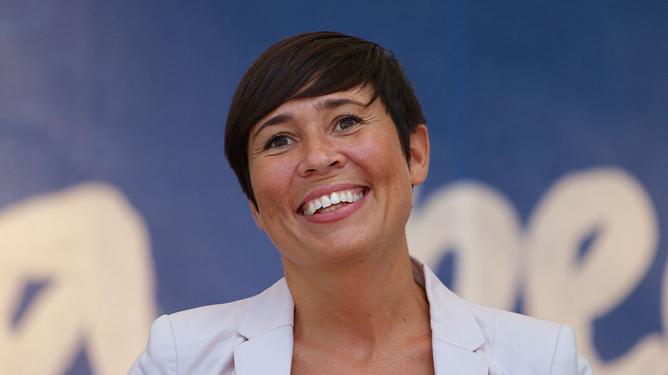 Norges utenriksminister Ine Marie Eriksen Søreide boikotter ikke den anti-israelske Durban konferansen, til tross for åpenbar og grov antisemittisme. Foto: Kjetil Ree/ https://commons.wikimedia.org/wiki/User:Kjetil_r .