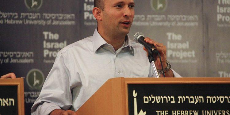 Israels statsminister Naftali Bennett. Foto: https://www.flickr.com/people/73610375@N07/Wikimedia Commons.