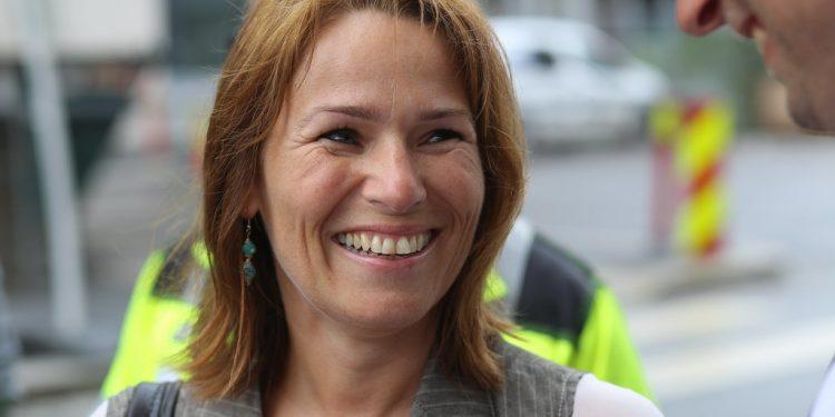 Som LO-leder arbeidet Trine Lise Saudnes for internasjonal boikott av Israel. Foto: Arbeiderpartiet/Flickr.