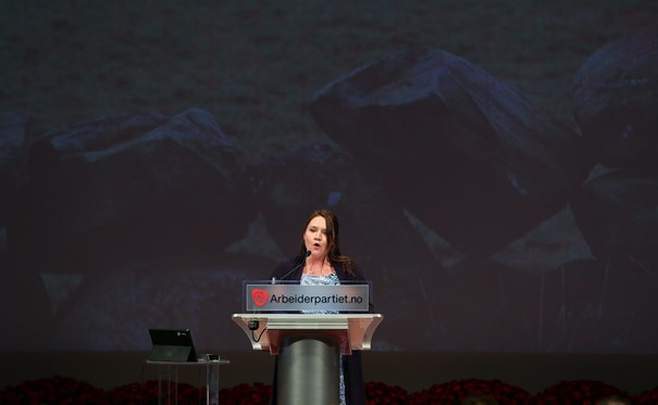 Eva Kristin Hansen. Foto: https://www.flickr.com/photos/arbeiderpartiet/16980382130.