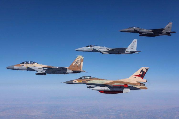 Juniper Falcon 2017. Foto: IAF/IDF.