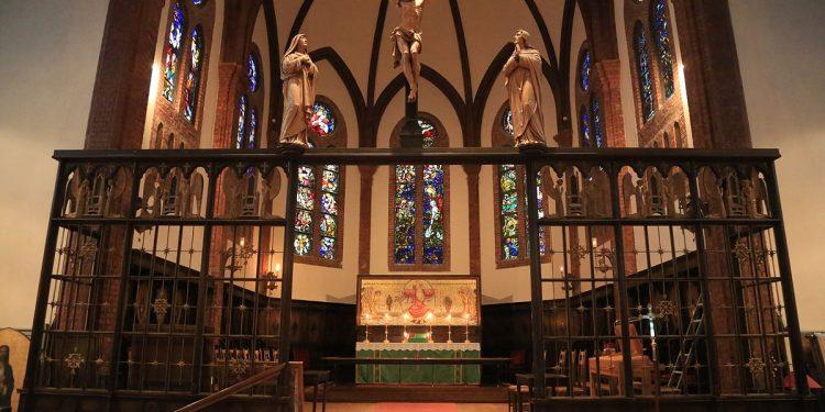 Uranienborg kirke. Foto Hans A. Rosbach - https://commons.wikimedia.org/wiki/File:Uranienborg_kirke_20130529-03.jpg.
