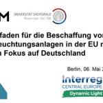 Cover Quo vadis öffentliche Beleuchtung? Leitfaden für die Beschaffung von Beleuchtungsanlagen in der EU mit dem Fokus auf Deutschland