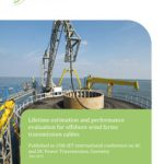 Cover Lifetime estimation and performance evaluation for offshore wind farms transmission cables