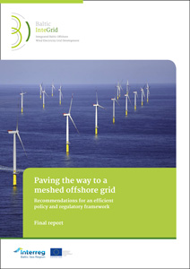 Cover Paving the way to a meshed offshore grid – Recommendations for an efficient policy and regulatory framework