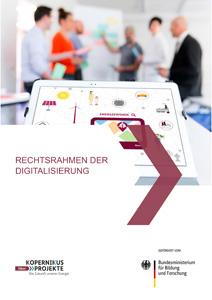 Cover Rechtsrahmen der Digitalisierung