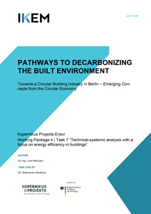 Cover Pathways to Decarbonize the Built Environment – Towards a Circular Building Industry in Berlin