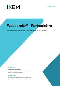 Cover Wasserstoff - Farbenlehre: Rechtwissenschaftliche und rechtspolitische Kurzstudie