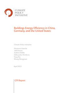 Cover Buildings Energy Efficiency in China