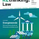 Cover Wasserstoff in der Energiewende – Herausforderungen an Recht und Governance