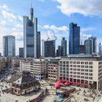 Ansicht Skyline Frankfurt am Main