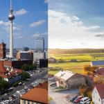 Stadt/Land (Quelle: pixabay/andre_berlin & pixabay/fbhk)