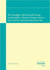 Cover The Paradigm Shift towards Energy Sustainability: Climate Change