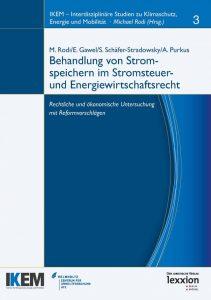 Cover Behandlung von Stromspeichern im Stromsteuer- und Energiewirtschaftsrecht