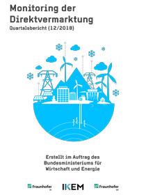 Cover Monitoring der Direktvermarktung von Strom aus Erneuerbaren Energien. Quartalsbericht (12/2018)
