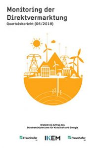 Cover Monitoring der Direktvermarktung von Strom aus Erneuerbaren Energien. Quartalsbericht (06/2018)