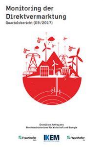 Cover Monitoring der Direktvermarktung von Strom aus Erneuerbaren Energien. Quartalsbericht (09/2017)