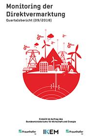 Cover Monitoring der Direktvermarktung von Strom aus Erneuerbaren Energien. Quartalsbericht (09/2018)