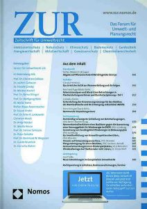 Cover Der Rechtsrahmen zur Förderung der Elektromobilität unter besonderer Berücksichtigung kommunaler Handlungsmöglichkeiten