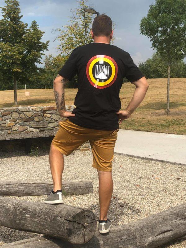T-Shirt Belgian Retro Night Zwart (DJ Stijn VM)