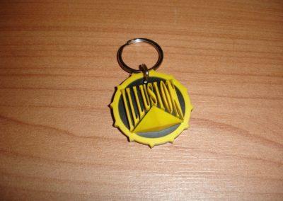 Vintage Illusion keychain