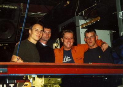 Kai Tracid, Philip, Kurt and friend