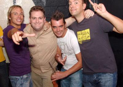 DJ's meet the promotors