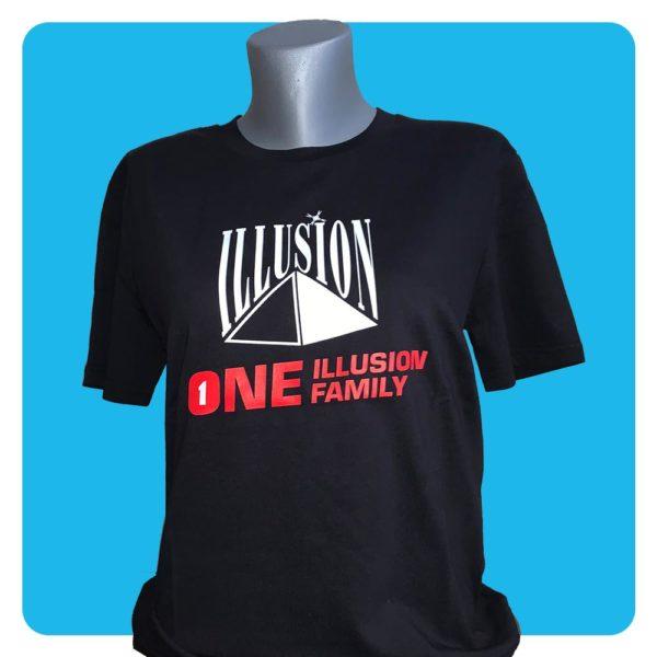 One Illusion One Family Zwart