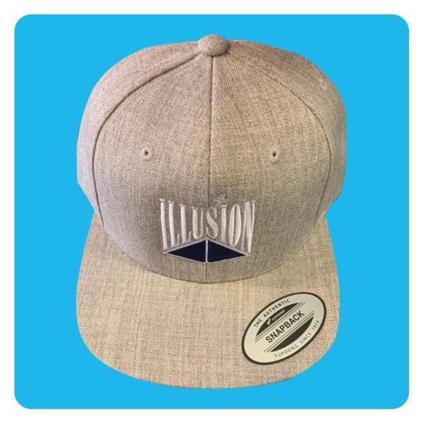 Illusion snapback grey
