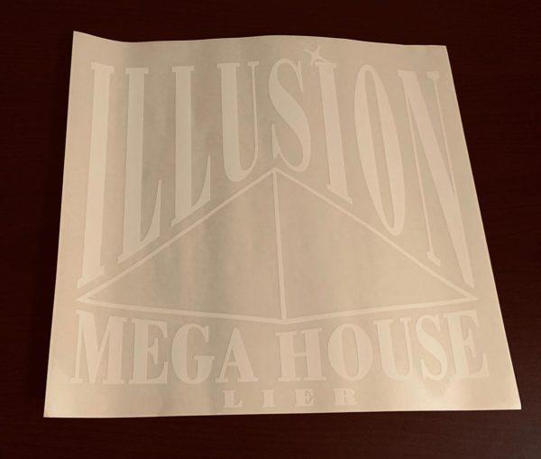 Vintage Illusion Carsticker