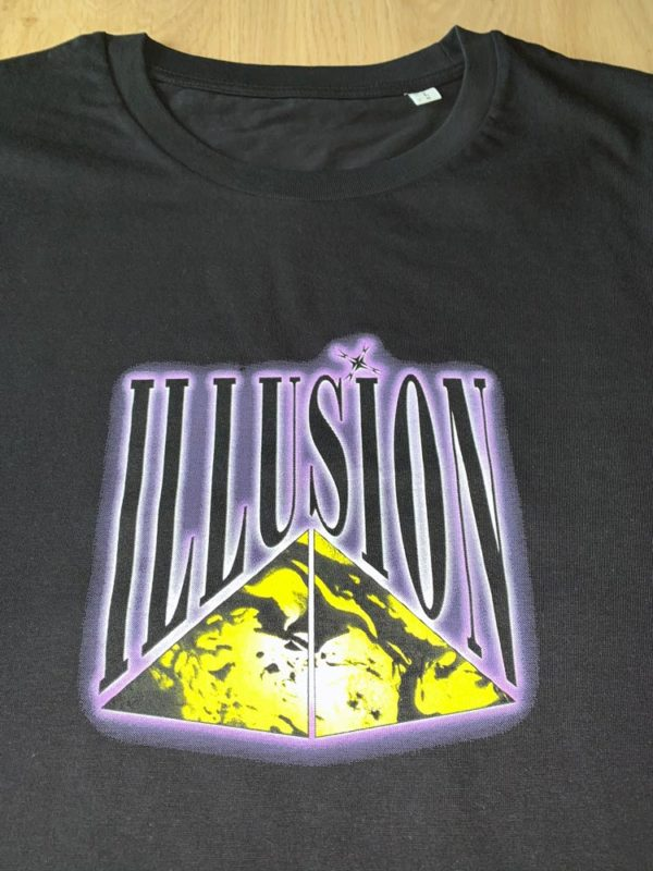 "T-Shirt Illusion ""Mindblowing"" voorkant"