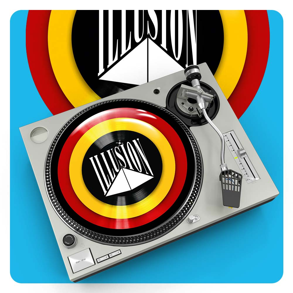Illusion Slipmats Belgian Retro